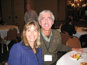 Sharla Wagy, ShopNBC, and Peter Goldreich, CotterWeb